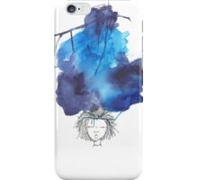 hurricane thoughts iPhone Case/Skin