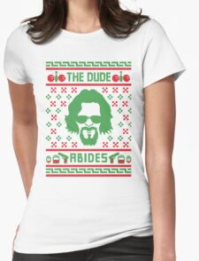 The Dudes Christmas Womens Fitted T-Shirt