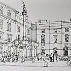 Another Edinburgh sketch by Peter Lusby Taylor