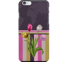 Tulip map iPhone case iPhone Case/Skin