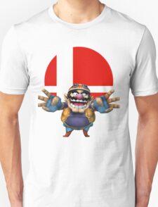 wario t-shirt smash bros brawl  T-Shirt