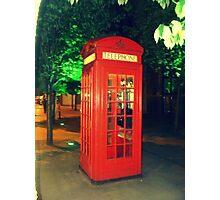 Phone Call  Photographic Print