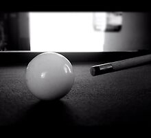 Cue ball by Robert Steadman