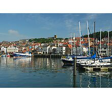 Harbour in morning light Photographic Print