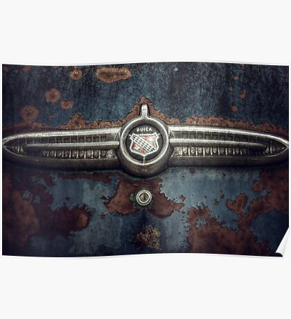 Buick trunk badge Poster