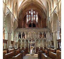 Southwell Minster, Nottinghamshire 3 Photographic Print