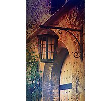 A Lamp in Colour Photographic Print