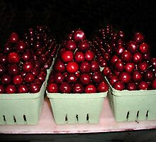 Boxes of Cherries by Tom  Reynen