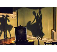 Dancing in Shadows Photographic Print