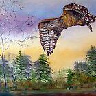 Red Shoulder Hawk by Mikki Alhart
