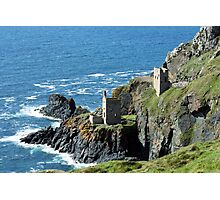 Botallack Crown Engine Houses Cornwall Photographic Print