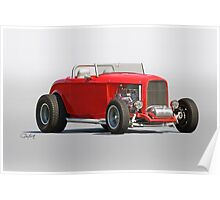 1932 Ford 'Road Warrior' Roadster Poster