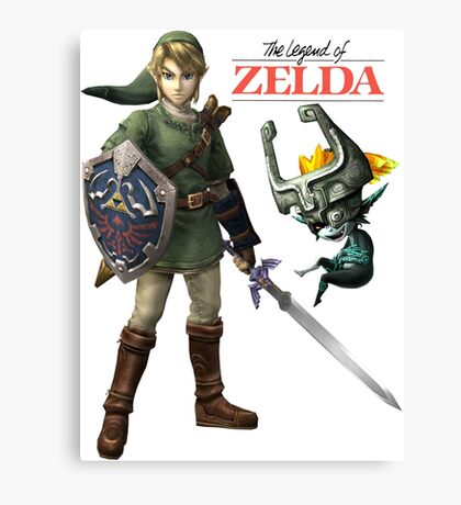 The Legend of Zelda  Canvas Print