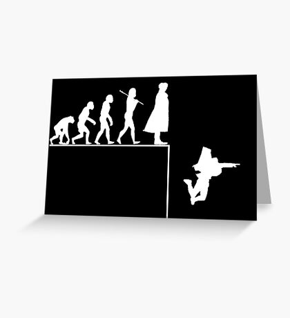 Sherlock Evolution Greeting Card