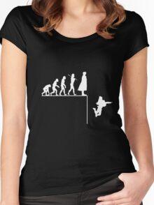 Sherlock Evolution Women's Fitted Scoop T-Shirt