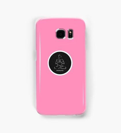 Yoga Namaste Calmness (White) Samsung Galaxy Case/Skin