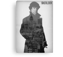 BBC Sherlock Poster  Canvas Print