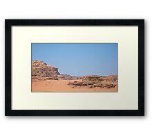 WADI RUM DESERT/JORDAN Framed Print