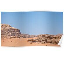 WADI RUM DESERT/JORDAN Poster