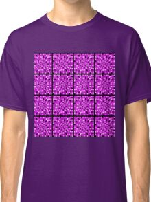 MULTI COLORED PURPLE ABSTRACT DESIGN Classic T-Shirt