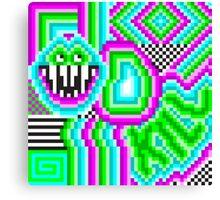 happy kill Canvas Print