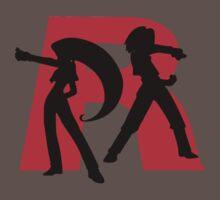 Team Rocket Line art One Piece - Short Sleeve