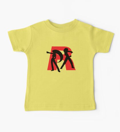 Team Rocket Line art Baby Tee