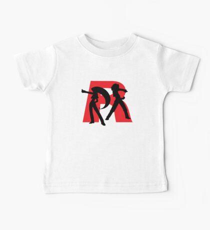 Team Rocket Line art Baby Tee