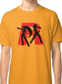 Team Rocket Line art Classic T-Shirt