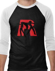 Team Rocket Line art Men's Baseball ¾ T-Shirt