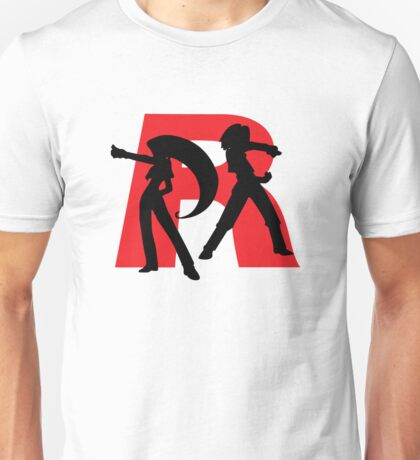 Team Rocket Line art Unisex T-Shirt