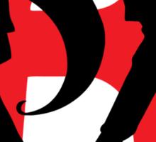 Team Rocket Line art Sticker