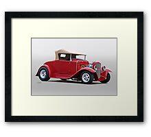 1932 Ford 'Rag Time' Roadster Framed Print