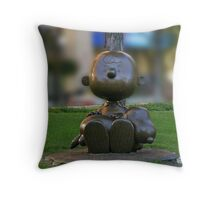 Charlie Brown & Snoopy Throw Pillow