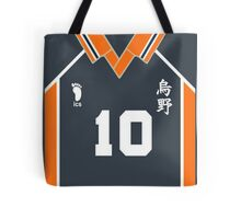 karasuno team number 10 Tote Bag