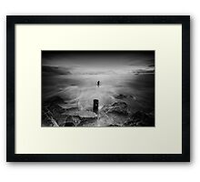 Seaposts-Youghal Co. Cork Framed Print