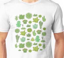 Succulents Unisex T-Shirt