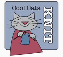 Cool Cats Knit Blue Kids Clothes