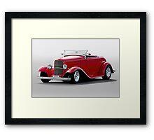 1932 Ford 'Love Child' Roadster Framed Print