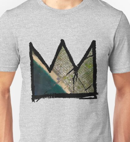 "Basquiat ""King of Santa Monica"" Unisex T-Shirt"