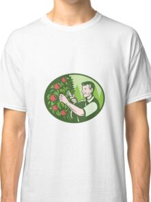 Horticulturist Farmer Pruning Fruit Classic T-Shirt