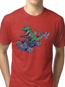 Clever Shell Tri-blend T-Shirt