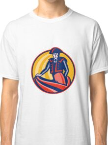 Matador Bullfighter Cape Retro Classic T-Shirt