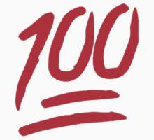 100 Emoji Funny Kids Tee