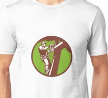 Arborist Tree Surgeon Trimmer Pruner Unisex T-Shirt