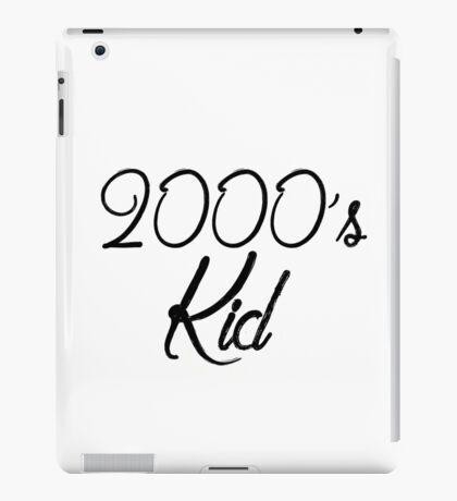 2000's kid iPad Case/Skin