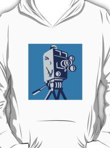 Vintage Film Movie Camera Retro T-Shirt