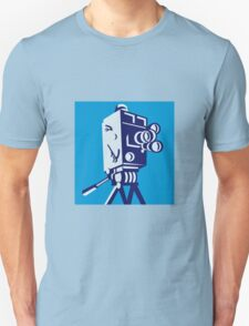 Vintage Film Movie Camera Retro Unisex T-Shirt