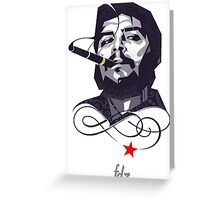 Che Guevarra  Greeting Card