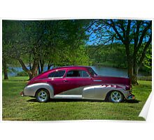 1948 Chevrolet Fleetline Custom Poster